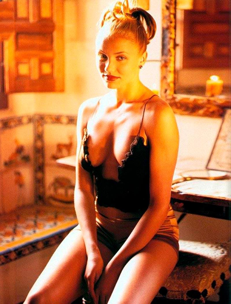 Cameron Diaz Posado Erótico Revista Moda 6