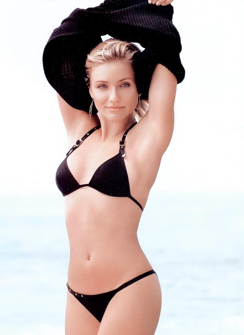 Cameron Diaz Semidesnuda Bikini Vacaciones Mar 10