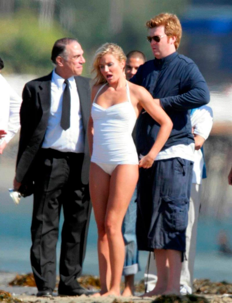 Cameron Diaz Tetas Pillada Paparazzi Topless 4