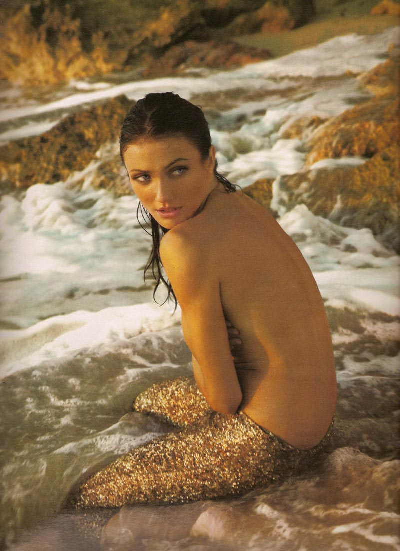 Cameron Diaz Tetas Pillada Paparazzi Topless 9