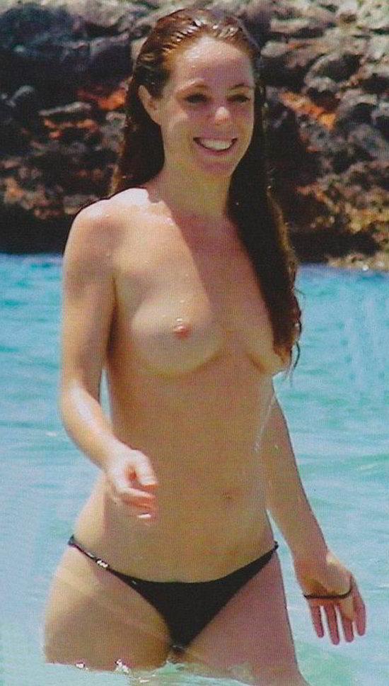 El topless de Silvia Marty