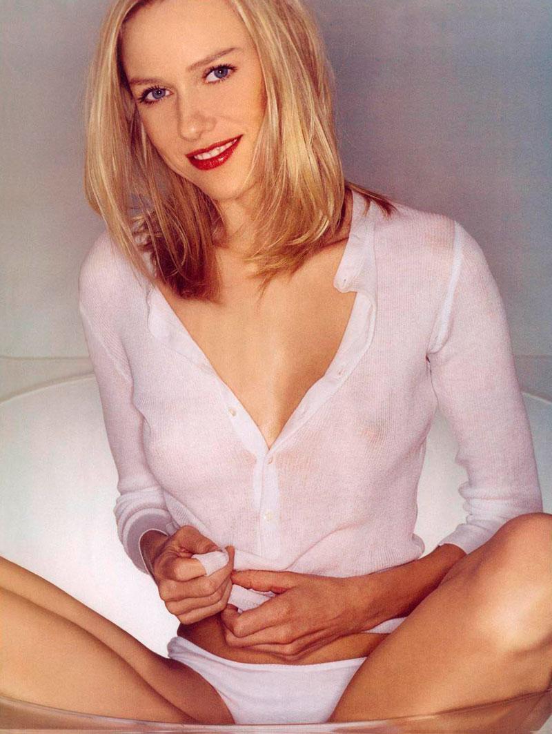 Naomi Watts Posado Erótico Revista Moda 10