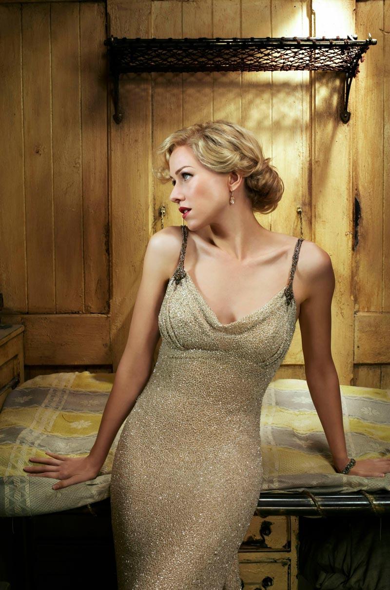 Naomi Watts Posado Erótico Revista Moda 3