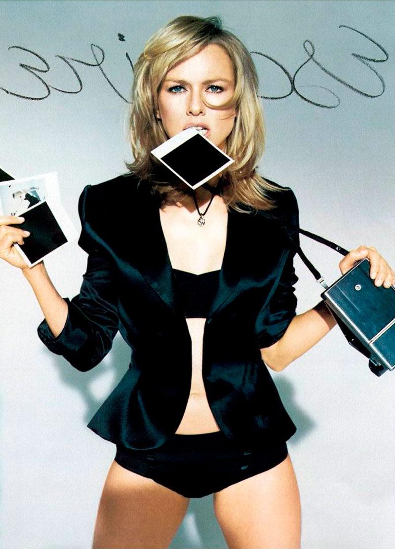 Naomi Watts Posado Erótico Revista Moda 8