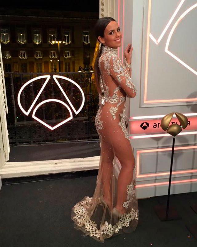 Cristina Pedroche con vestido de NocheVieja
