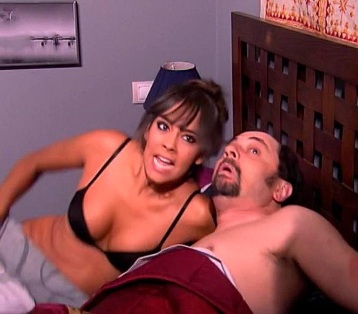 Cristina Pedroche en la cama con El Recio