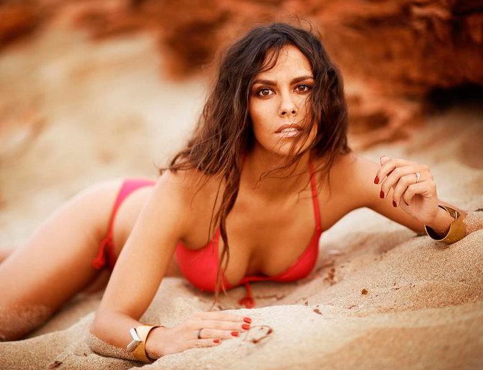 Cristina Pedroche en la playa