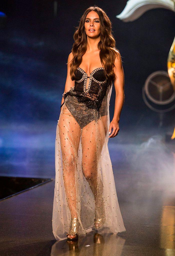 Cristina Pedroche modelo de pasarela