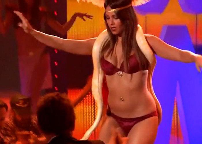 Cristina Pedroche striptis en televisión