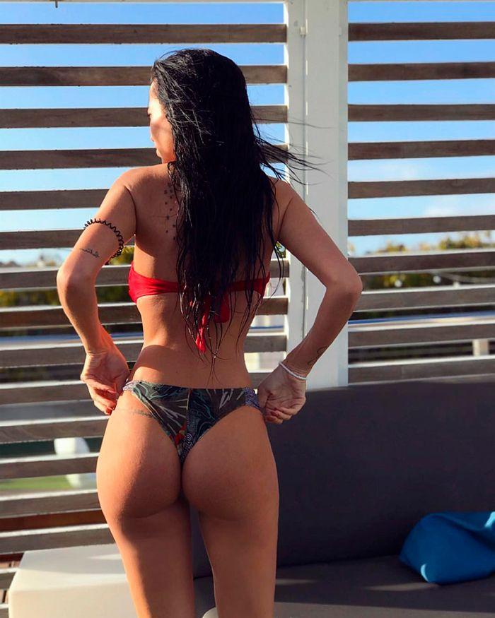 El culo en tanga de Aurah Ruiz