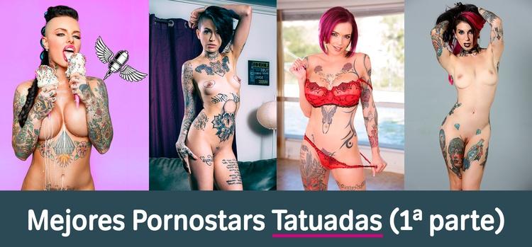 Mejores Pornostars con tatuajes 1ª parte