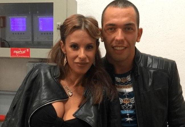 Techi y exmarido Alberto Isla