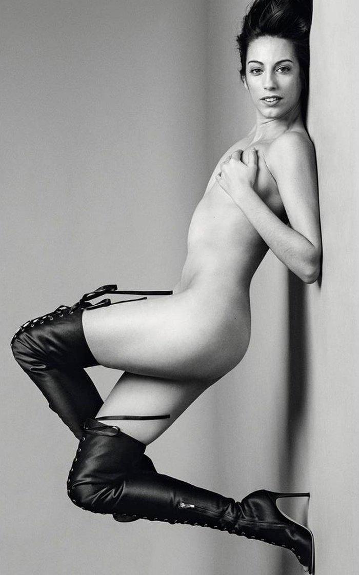Almudena Cid desnuda en S moda
