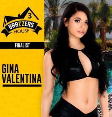 Gina Valentina ganadora Brazzers House 3