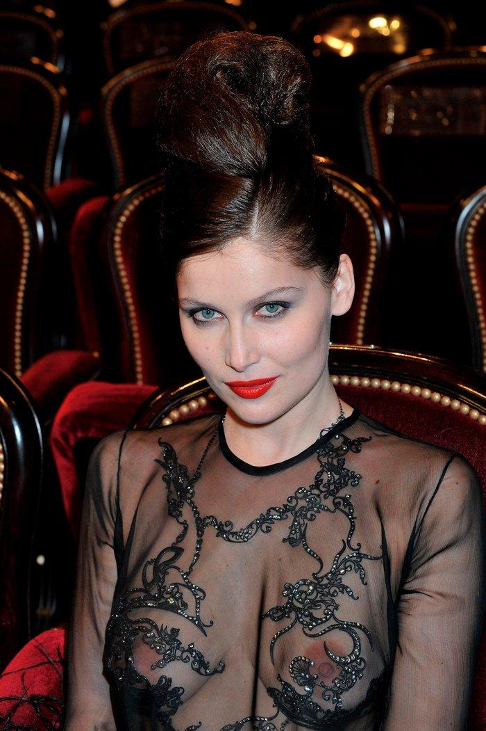 La atractiva modelo Laetitia Casta