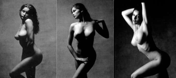 La desnudez hecha arte de Laetitia Casta