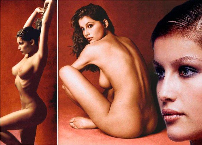 Laetitia Casta modelo de desnudos francesa
