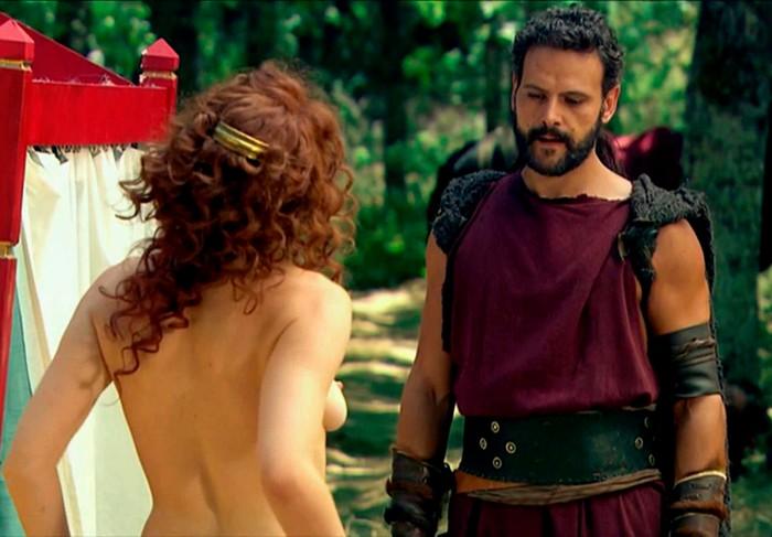 Nathalie Poza desnuda en Hispania