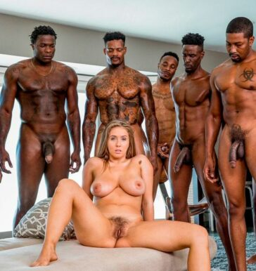 Primer gangang interracial Lena Paul