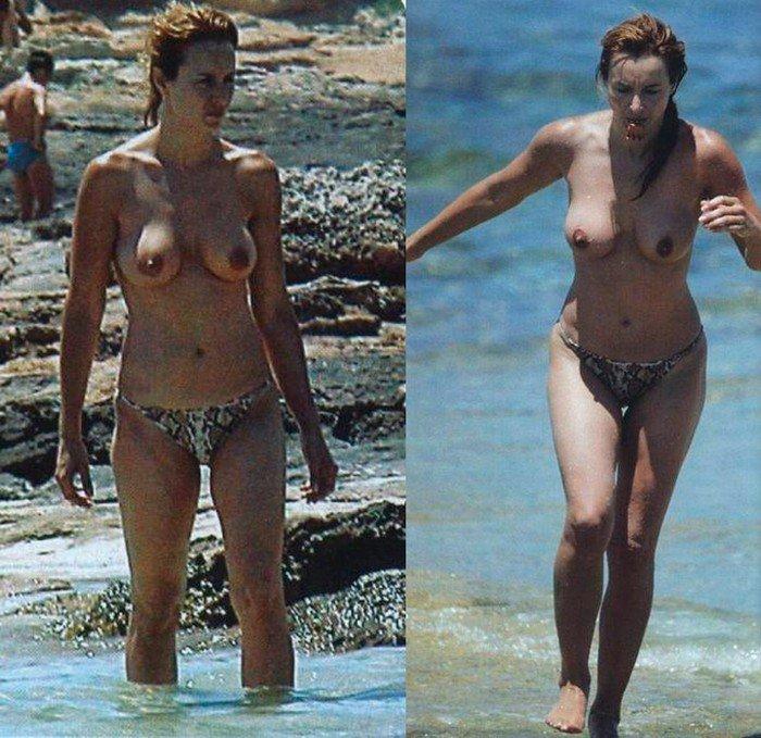 Fotos de Mar Regueras desnuda en la Playa