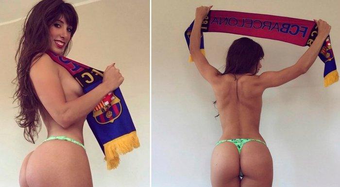 Judit Benavente hincha del Barça