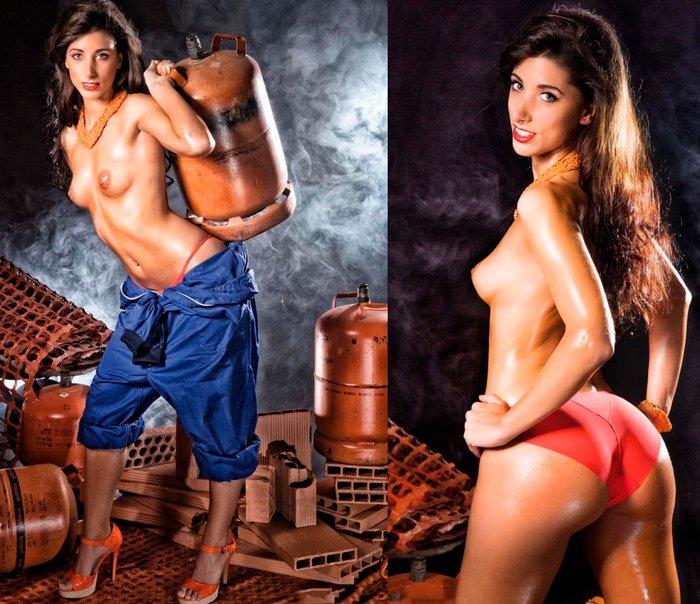 Judit Benavente portada revista Interviu