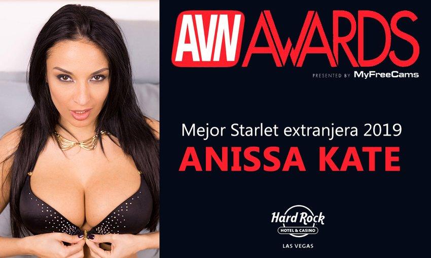 Anissa Kate Mejor pornostar extranjera AVN Awards 2019
