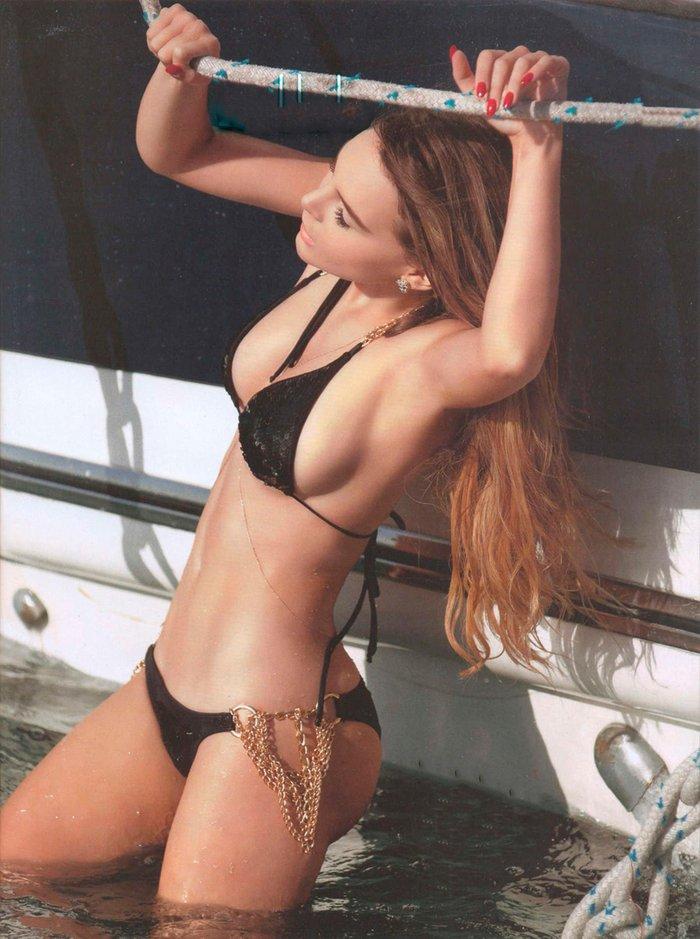 Belinda Peregrín muy hot