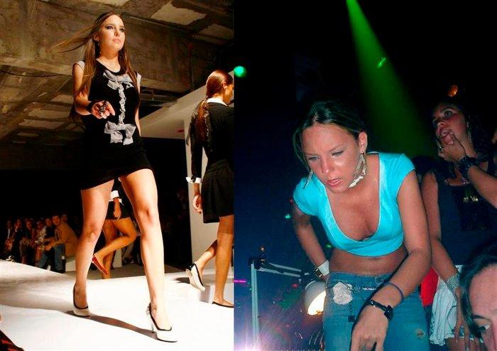 Belinda Peregrín pasarela moda