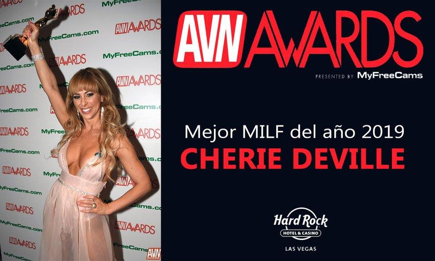 Cherie Deville Mejor Milf AVN Awards 2019