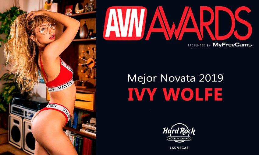 Ivy Wolfe Mejor Pornostar Revelación AVN Awards 2019