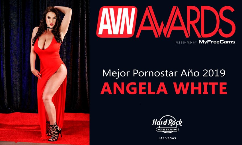 Mejor pornostars AVN 2019 Angela White