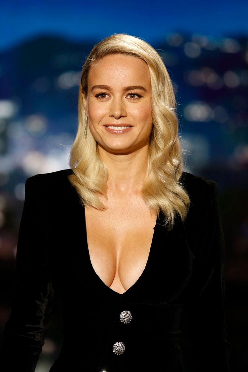 Brie Larson Pechos Escote Sexy