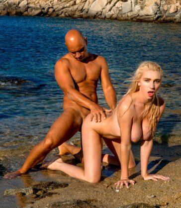 Kendra Sunderland Despide Porno Playas Grecia
