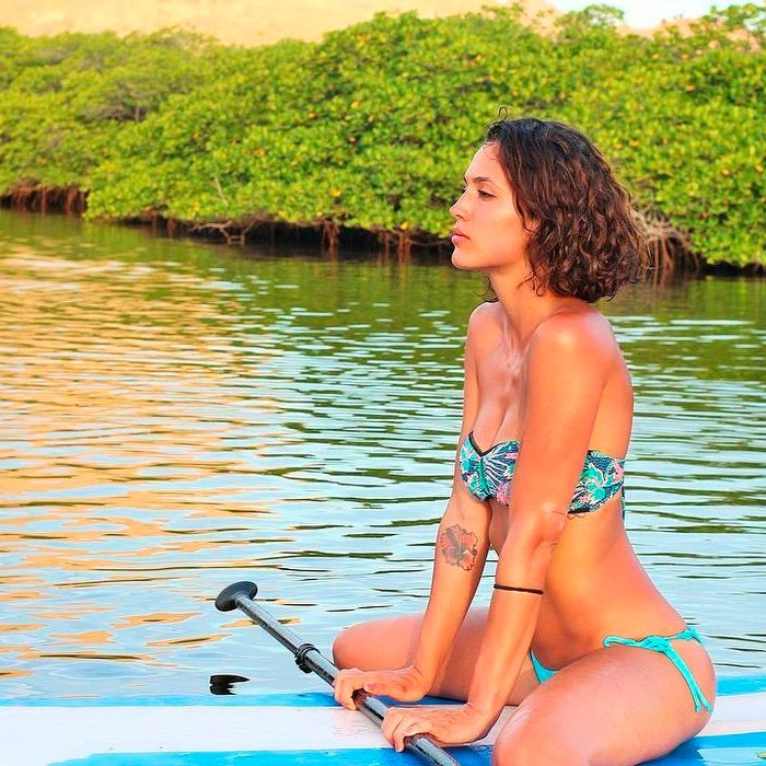 Michelle Calvó biquini vacaciones