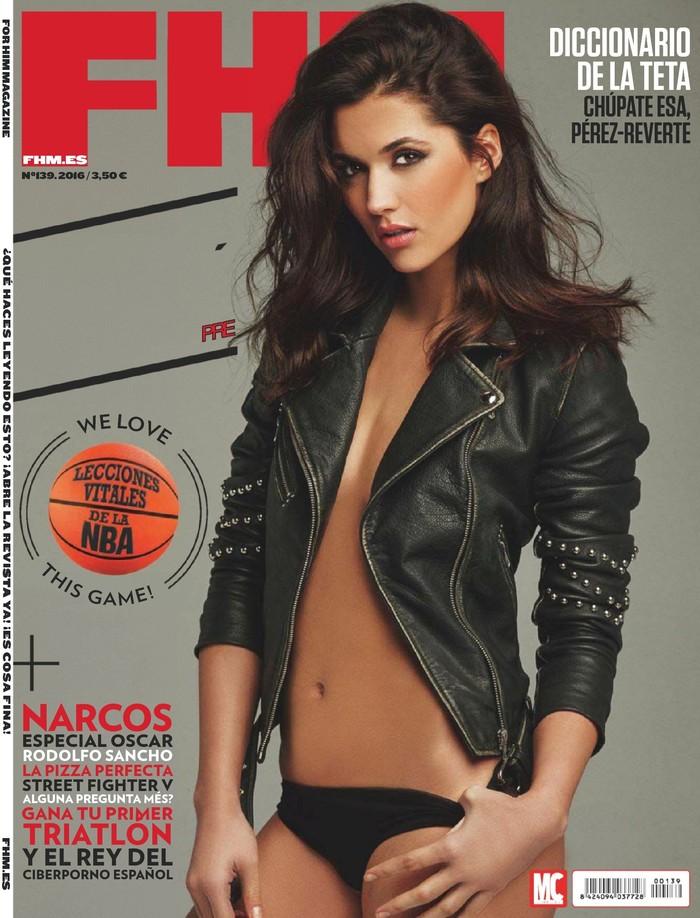 Michelle Calvó portada FHM