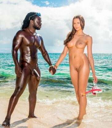 Stacy Cruz debut interracial