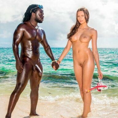 Stacy Cruz debut interracial