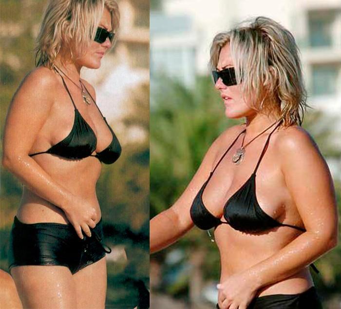 Amaia Montero bikini playa