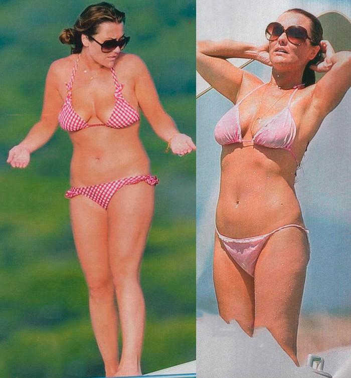 Amaia Montero luciendo cuerpo playa