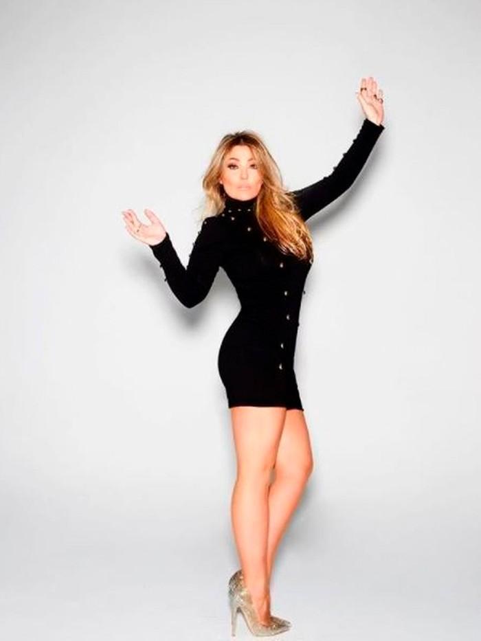 Amaia Montero vestido provocativo