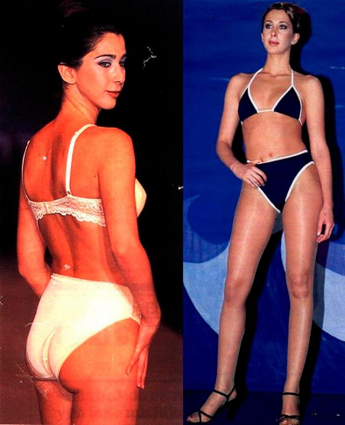 Carmen Janeiro modelo ropa interior