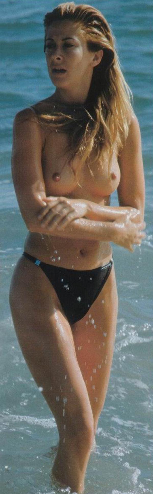 Carmen Janeiro papparazzi pillada topless desnuda