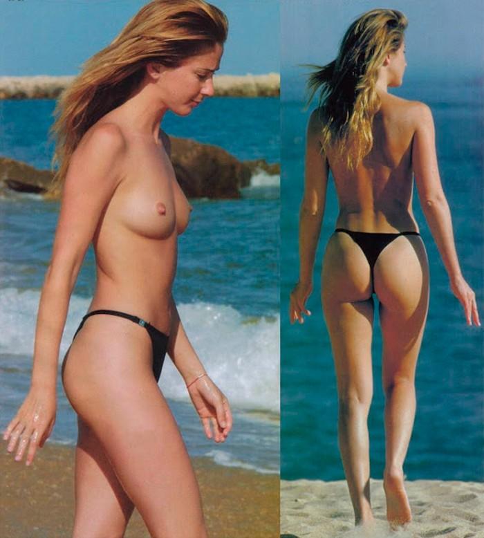 Carmen Janeiro topless playa