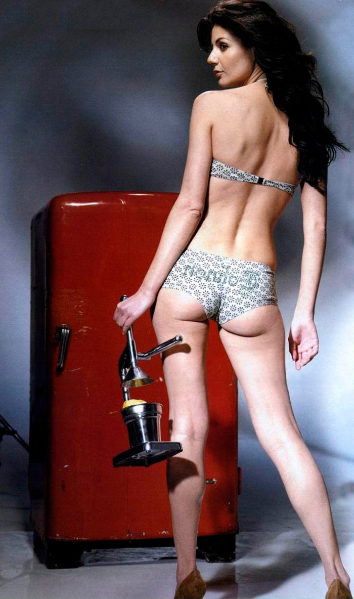 Cristina Peña sesión fotográfica sexy