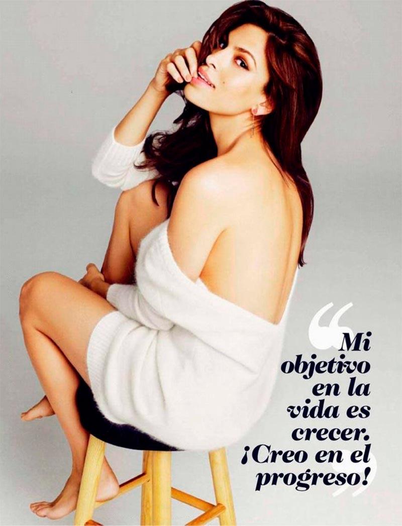 Eva Mendes Posado Revista Moda 2