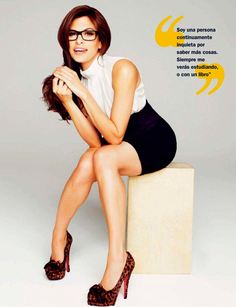 Eva Mendes Posado Revista Moda