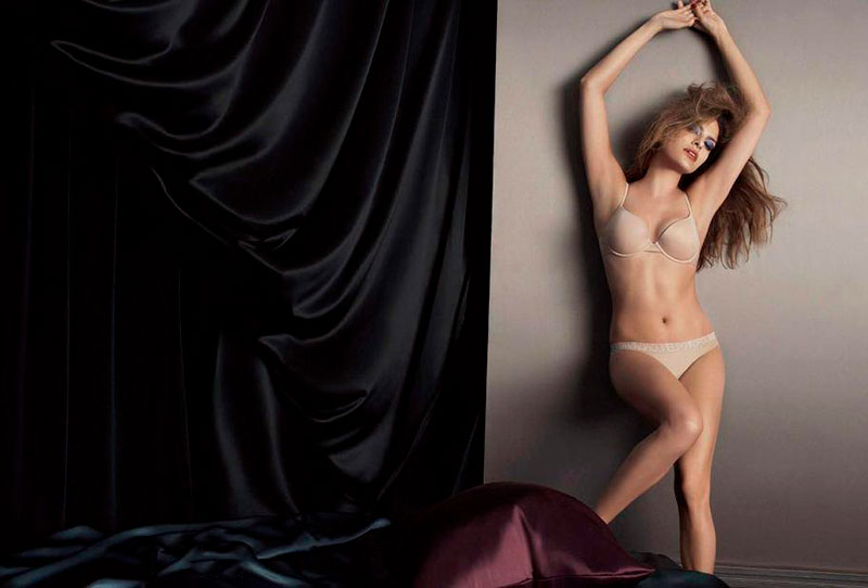 Eva Mendes Ropa Interior Posado Erótico