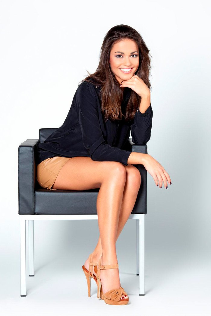 Lara Álvarez piernas largas