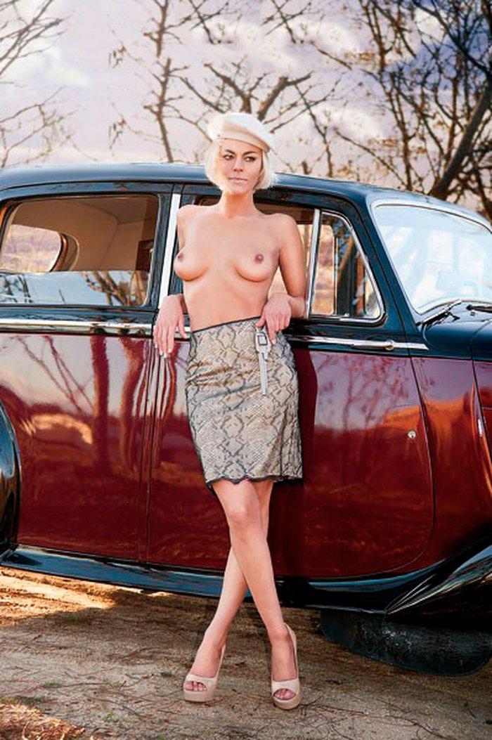 Penélope Velasco revista erótica